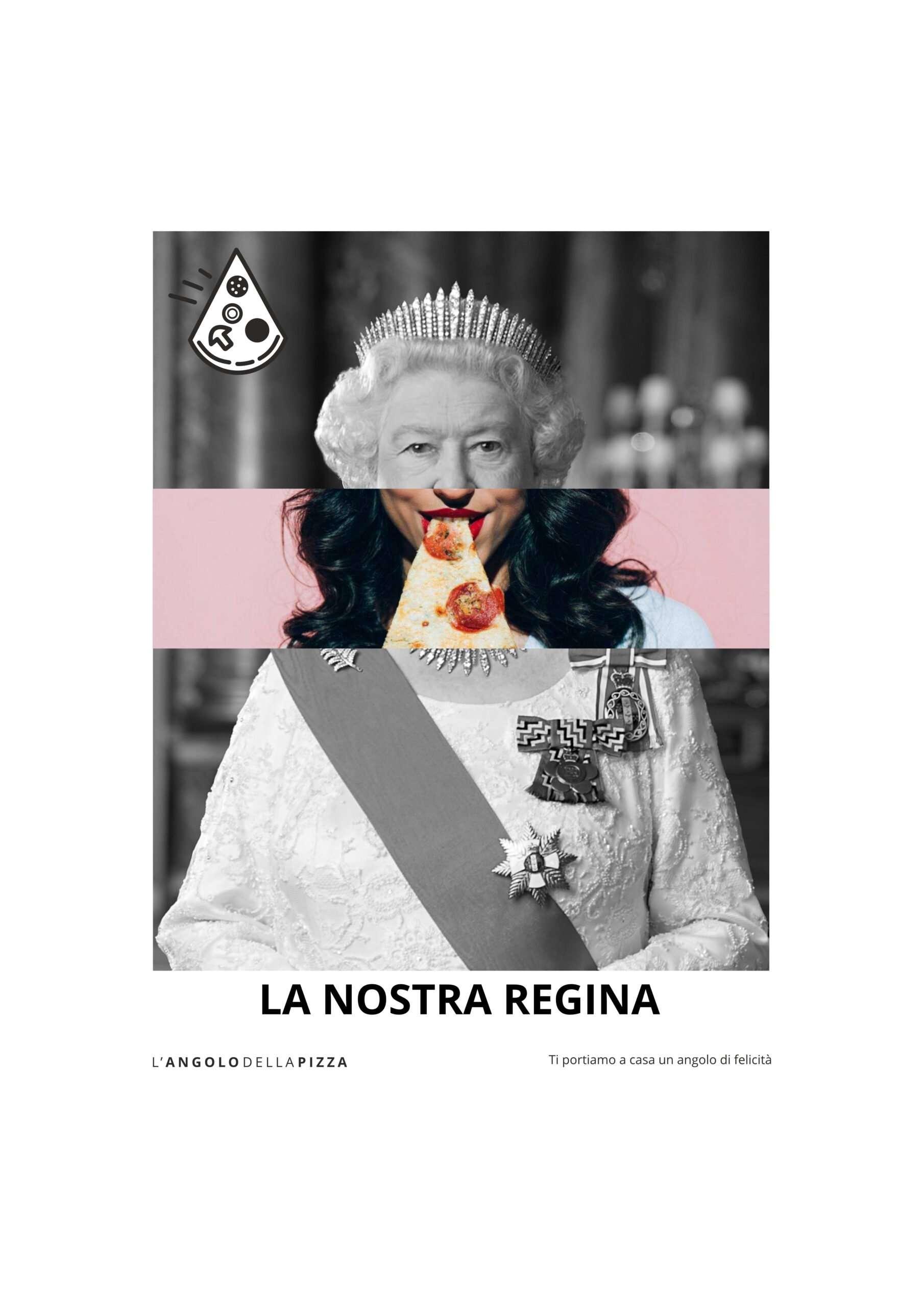 Concept. Poster per L'Angolo della Pizza